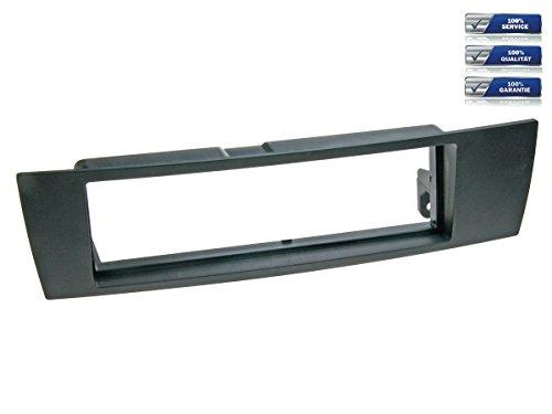 Façade d'autoradio 1-DIN pour BMW Série 1 (E87) / Série 3 / X1 (E84) / Z4 (89), noir