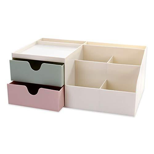 Schubladen-Typ Kosmetik Aufbewahrungsbox Großflächige Finishing Hautpflegeprodukte Desktop Schminktisch Kunststoff Lippenstift Rack Desktop Finishing Artefakt