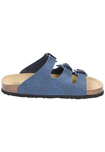 Dr. Brinkmann 700450 Damen Pantoletten Blau (Marine) - 5
