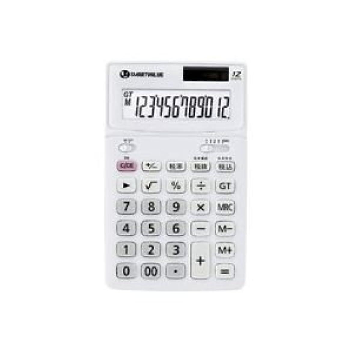 大声で聖なる申請者(業務用4セット)ジョインテックス 中型電卓 ホワイト K071J 生活用品 インテリア 雑貨 文具 オフィス用品 電卓 14067381 [並行輸入品]