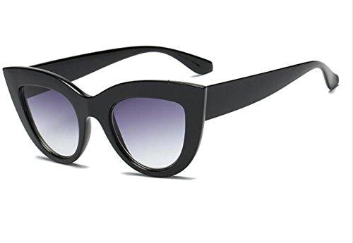 FNNNG mujer, s moda ojo de gato gafas de sol damas teñidas lentes de diseñador de moda vintage polarizadas 400 protección uv