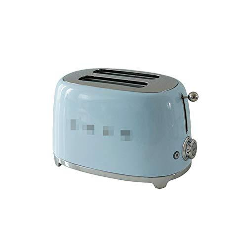 NAFE Tostadora de 2 rebanadas, 220V 950W, tostadora Multiusos, tostadora Totalmente automática-Blue