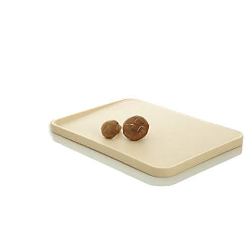 Tablero de picar engrosado tablero de corte inclinado plástico tajadera anti-goteo cocina de corte a domicilio una tabla de cortar Duradero y duro y resistente al desgaste.