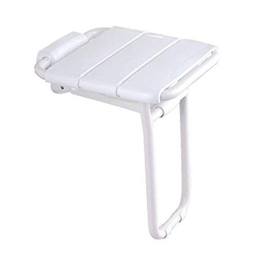 HHJK Duschsitz mit Lattenrost, Verstellbarer Duschstuhl mit Lattenrost for die Drainage, zusammenklappbar, wenn er Nicht benutzt Wird, for Badezimmer