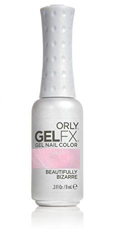 ORLY GELFX, UV-Nagellack, Shimmer, 9ml, Farbe:Nude, Effekt:Shimmer, Typ:Beautifully Bizarre
