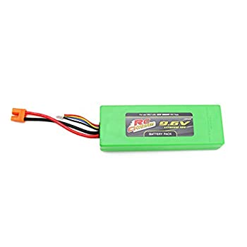 Official 9.6 Volt 2200 mAH Lithium Ion RC Chargers Rechargeable Battery Pack   Fits RC Pro Brushless Beast   Also Works with New Bright Frenzy Model # 81060