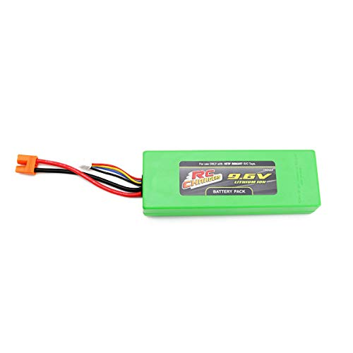 Official 9.6 Volt 2200 mAH Lithium Ion RC Chargers Rechargeable Battery Pack | Fits RC Pro Brushless Beast | Also Works with New Bright Frenzy Model # 81060