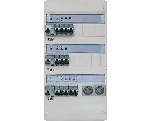 Tableau électrique monté câblé 35 à 100m² - LEGRAND - LEG-35/100SC