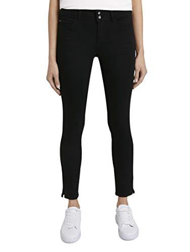 TOM TAILOR Damen Alexa Skinny Jeans, 10240 - black denim, 30W / 32L