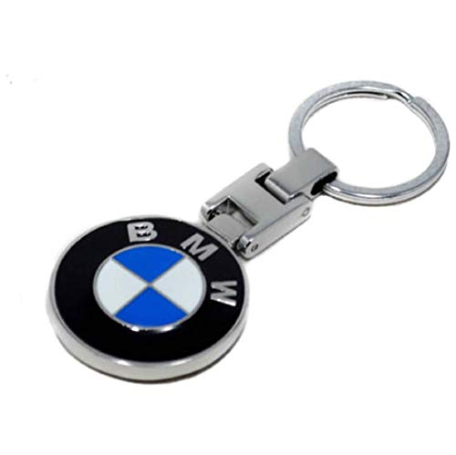 TGH (BMLF) Metal Keyring with Motorsport Emblem