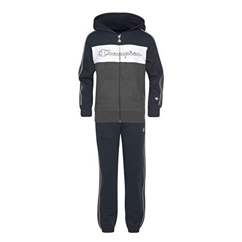 Champion Jungen Jogginganzug Hooded Full Zip Suit - L