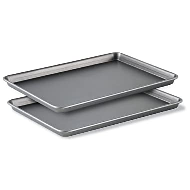 Calphalon (BW2018P) Classic Bakeware Special Value 12-by-17-Inch Rectangular Nonstick Jelly Roll Pans, Set of 2