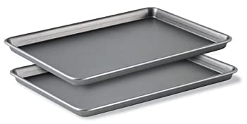 Calphalon Classic Bakeware Special Value 12-by-17-Inch Rectangular Nonstick Jelly Roll Pans Set of 2