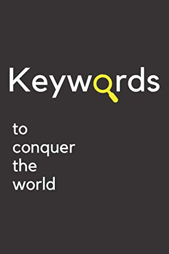 Keyword research planner: a notebook for planning your online marketing campaigns and SEO strategy