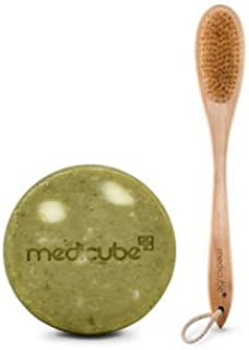 [Medicube メディキューブ] レッドボディークレンジングブラシ+ボディーバーセット / Red Body Cleansing Brush+Body bar set [並行輸入品]