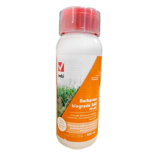 Herbicida VEBI BARBARIAN BIOGRADE 360 GLIFOSATE de 500 ml