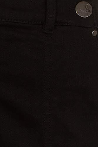 Hell Bunny Weston Denim Jeans 40s 50s Vintage Retro Rockabilly Trousers Pants, Black, Large