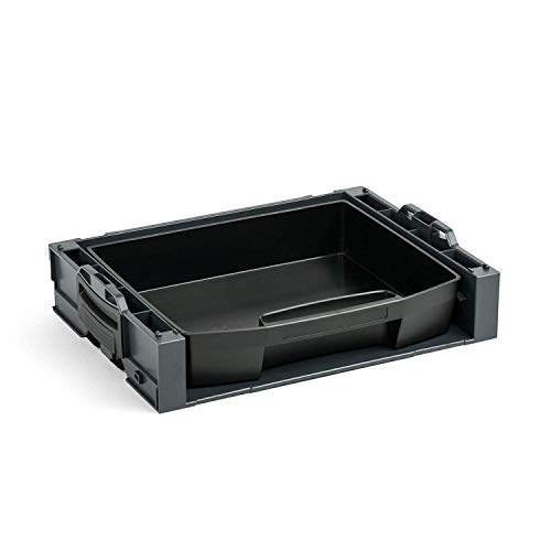 Bosch Sortimo i-Rack aktiv anthrazit bestückt mit LS-Schublade 72 schwarz