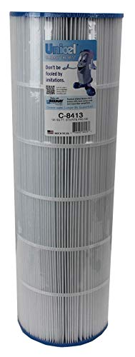 Unicel C-8413 125 Square Foot Swimming Pool and Spa Replacement Cartridge Filter for Sta-Rite Posi-Clear PXC-125 and Waterway Pro Clear 125