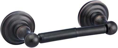 AmazonBasics - Klassischer Standard-Toilettenpapierhalter - Geölte Bronze