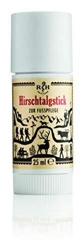Hirschtalgstick | Traditionelle Fußcreme | zur Vorbeugung von Blasen- und Hornhautbildung