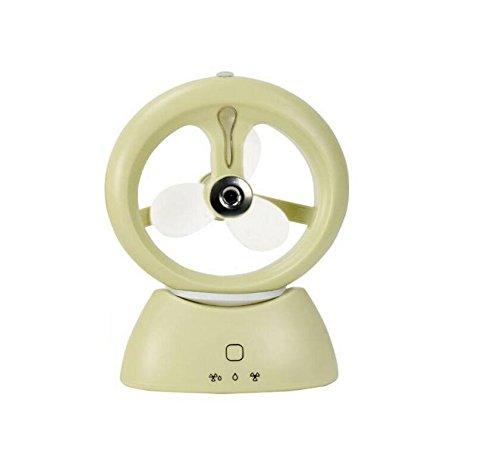 Fan/ Ventola da Mini USB ricaricabile Ventilatore elettrico del dormitorio dell'ufficio del ventilatore portatile Spray portatile dell'aria condizionata di ventilazione Piccolo ventilatore