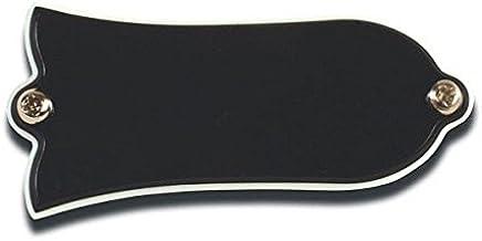 Cache truss rod cloche Noir WD pour Guitares Gibson