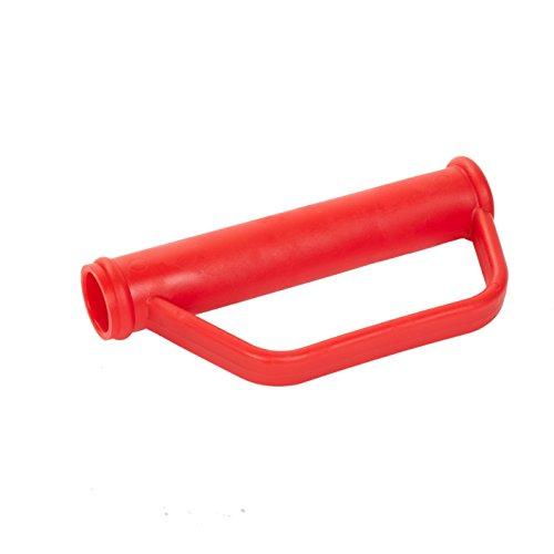 pro-bau-tec 2 Stk Sicherheitsgriffe für Sackkarre (Ersatzgriffe 25 mm für Transportkarre)