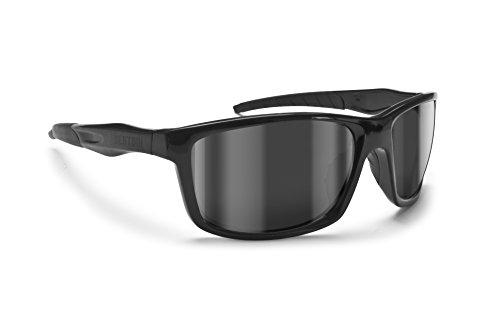 occhiali da sole ciclismo Bertoni Occhiali da Sole Sportivi Antivento Avvolgenti per Ciclismo Moto Running Sci Golf - Alien 01 Italy