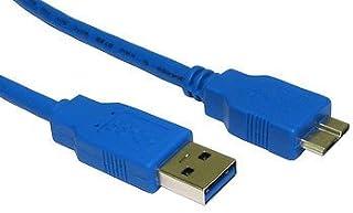 Babz Tech Cable de Datos USB para Disco Duro Externo Toshiba HDTC607EK3A1 STOR.E CANVIO