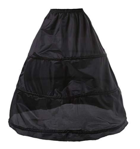kivie Enagua 3 Aros Crinolina Boda Enaguas Enteras Crinolina para Mujer Faldas Vestidos para Mujer Underskirt Cancan Enagua cancán