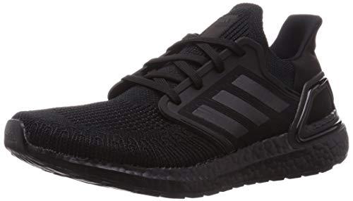 adidas Ultraboost 20, Zapatillas de Running Hombre, NEGBÁS/NEGBÁS/Rojsol, 42 2/3 EU