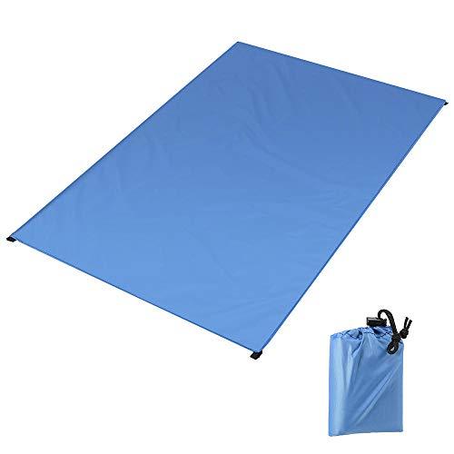 N/ Pique-Nique Poche Étanche Poche en Plein Air Plage Camping Tapis Couverture Léger Et Compact en Plein Air Bâche De Sol Tapis De Camping-S: 80 * 165 Cm