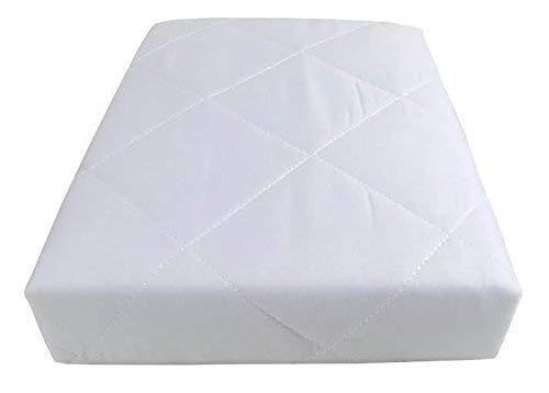 4 x Hôtel qualité matelassé anti Allergénique simple Protège matelas 90 x 190cm
