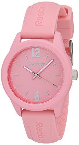 REEBOK Spindrop - Reloj de mujer, caja de 38 mm, carcasa de ABS, correa de silicona