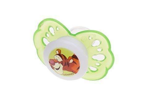 Beruhigungsschnuller aus Silikon Disney Winnie Pooh grün ab 0 Monate Größe 1 Schnuller