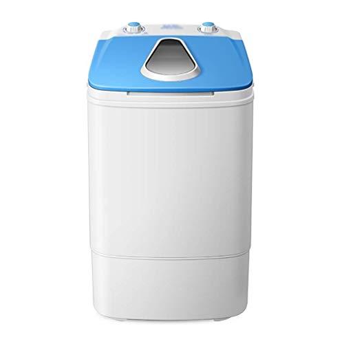 Lavadoras de ropa Mini Bebé Niño Lavadora, BLU-Ray Capacidad de Lavado Antibacteriano 3,8 kg, de Alta Potencia del Motor de Ahorro de energía y protección Ambiental (Color : Blue)