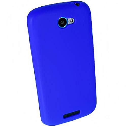 numerva Schutzhülle kompatibel mit HTC One S Hülle Silikon Handyhülle für HTC One S Case [Blau]