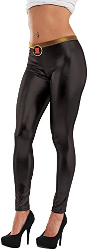 Rubie's Leggins Black Widow Marvel Frauen