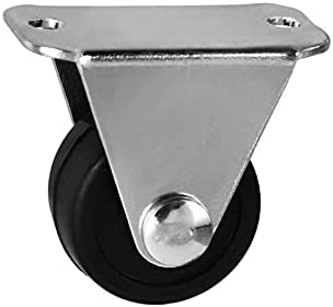 Arlington Mall Fetcus Casters - 5PC 1.25 inch black Max 60% OFF rubber casters silent and