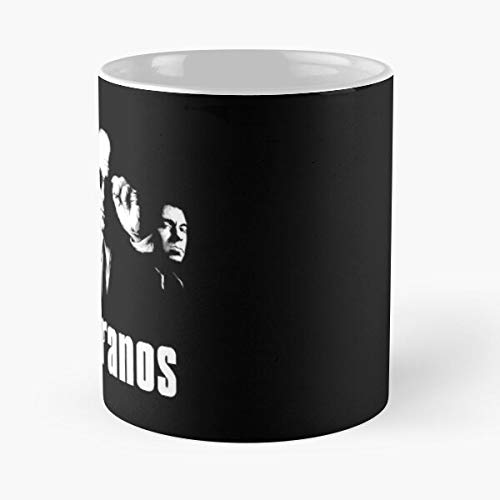 Wiseguys Mobsters Bada Tony Sopranos Bing Silvio Dante James Paulie Mafia Walnuts The Godfather Gandolfini Soprano Monsters Best 11 oz Kaffeebecher - Nespresso Tassen Kaffee Motive
