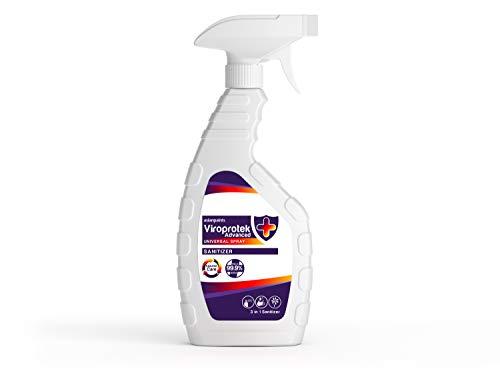 Asian Paints Viroprotek Advanced Universal 3 in 1 Spray Sanitizer - Kills 99.9% Germs – Safe on Skin, Sanitizes Areas,...