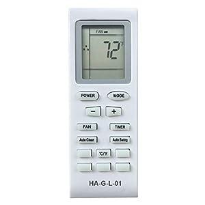 HA-G-L-01 Replacement for LG Portable Air Conditioner Remote Control COV30332904 COV30332907 COV30332902 for Model LP1213GXR LP1214GXR LP1215GXR LP1218GXR LP1414GXR LP1415GXR LP2525GXR LP1111WXR