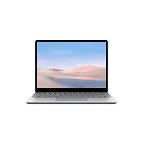 Microsoft Surface Laptop Go con pantalla táctil de 12.4 pulgadas, Intel Core i5, Memoria RAM 4GB, y 64GB disco estado solido (Plata)