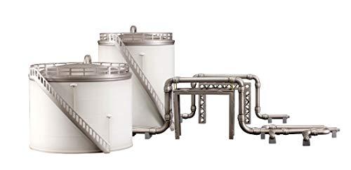 ピーエムオフィスエー 工業地帯シリーズ A 貯蔵タンク 全高約80mm ノンスケール プラモデル PP079