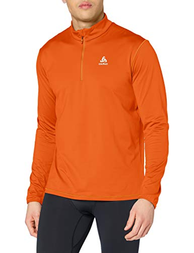Odlo Pull 1/2 Zip ALAGNA Homme, Hawaiian Sunset, FR : L (Taille Fabricant : L)