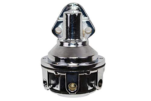A-Team Performance 12-834 Mechanical Fuel Pump Small Block Two Valve Compatible with Chevy Chevrolet GMC 262 265 267 283 302 305 307 327 350 383 400 High Volume Chrome