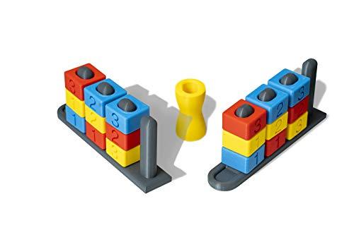 Nuovo Number Rumba gioco di società Edizione Limitata. Sfida i tuoi avversari in questo gioco stampato con stampanti 3D.Nuove Carte PDF. Cattura il totem prima del tuo avversario!