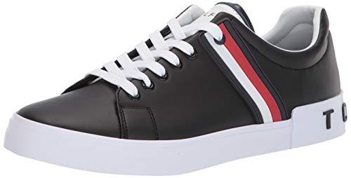 Tommy Hilfiger Men's Ramus Sneaker, Black, 13