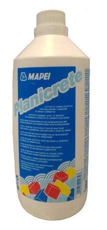 Mapei Planicrete - Lattice di gomma sintetica per impasti cementizi - Confezione da 1 Lt